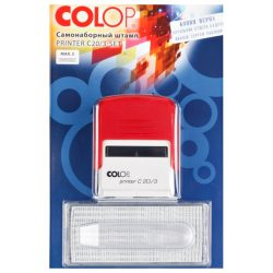 Самонаборный штамп Colop PRINTER C20-3-SET