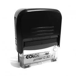 Printer C 30 (18 x 47 мм) черная